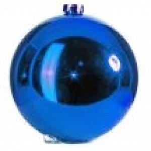 арт.Н0366 Шар глянцевый, d=20см, цвет-синий